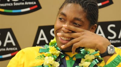 Semenya 'cannot race at this stage'