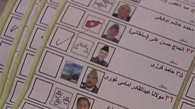 Video: Karzai 'leads Afghan poll'