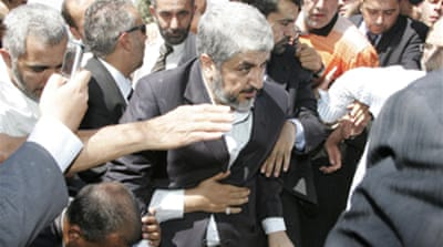 Hamas' Meshaal given Jordan return