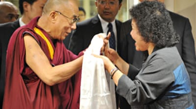 Dalai Lama visit 'not political'