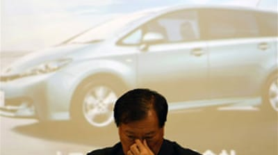 Toyota reports further losses