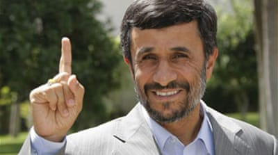 Ahmadinejad names new cabinet
