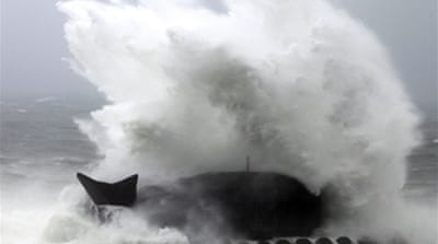 Typhoon Morakot slams Taiwan