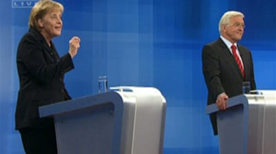 German candidates in Afghan debate