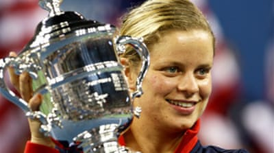 Clijsters clinches comeback title