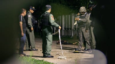 Troops killed in southern Thailand