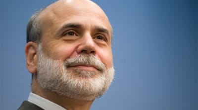 Bernanke: US recession likely over