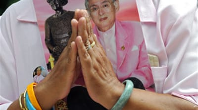 Thai king receives hospital care