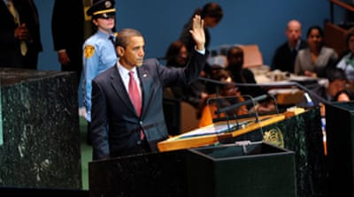 Obama urges 'era of engagement'