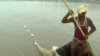 Video: Indian river under threat