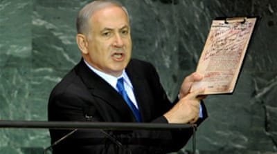 Netanyahu urges UN action on Iran