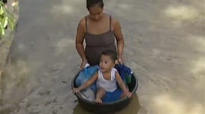 Video: Philippines flood of woes