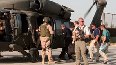 US extends Blackwater Iraq contract