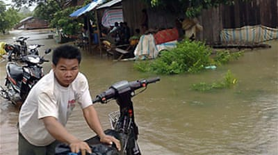 Typhoon claims lives in Cambodia