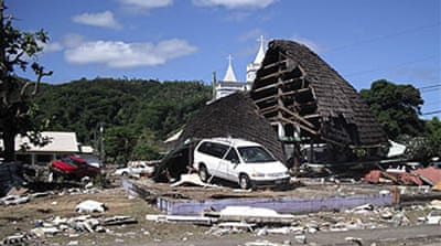 Deadly tsunami hits Samoan islands