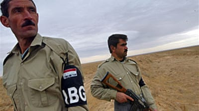 Iraq beefs up Syria border force