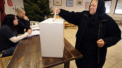 Exit poll favours Croat opposition