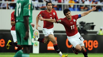 Egypt down Nigeria to lead Group C