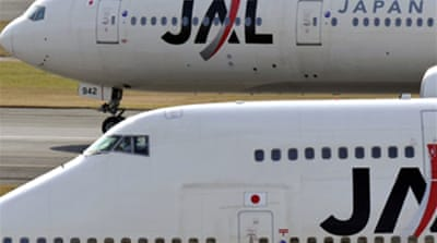 JAL shares dive on bankruptcy fears