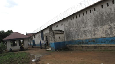 Death sentence in DR Congo prisons