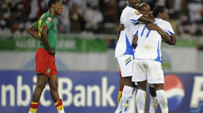 Gabon stun Cameroon with 1-0 win