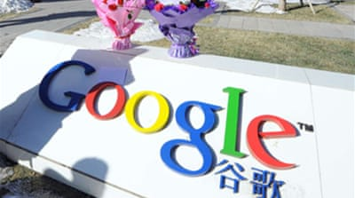 China defiant over Google threat