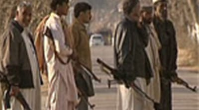 Tribal armies guard against Taliban