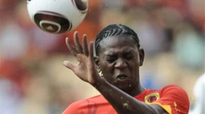 Draw sees Angola and Algeria safe