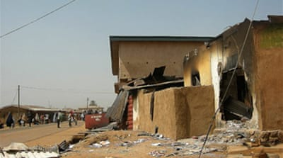 Clashes near Nigerian city of Jos