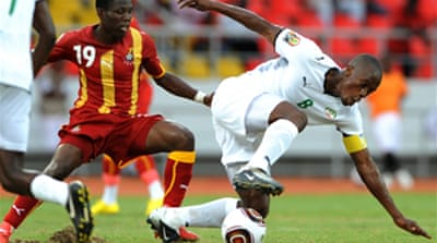 Ghana beat Burkina Faso to qualify
