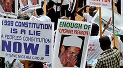 Nigeria court backs sick president