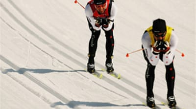 Blind skier makes Olympic history