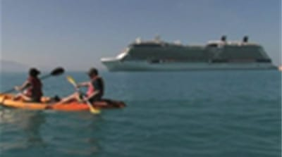 Cruise controversy in Haiti