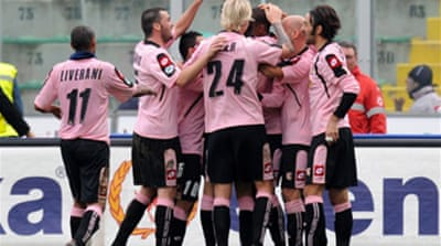 Palermo move up to fifth