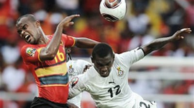Angola out as Black Stars shine