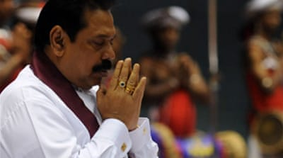 Defection blow for Sri Lanka leader