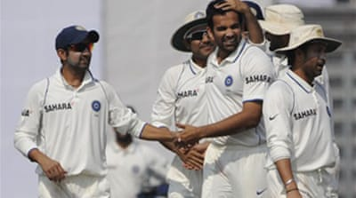 Zaheer bowls India to victory