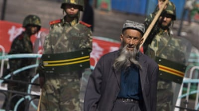 Four sentenced to die in Xinjiang
