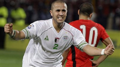 Algeria and Egypt set for turf war