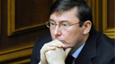 Ukrainian interior minister sacked