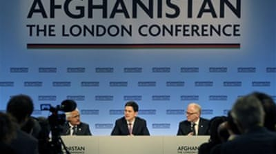 UK summit unveils new Afghan policy