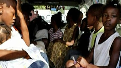 'Child smuggling' arrests in Haiti