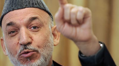 Karzai pledges to rebuild Marjah