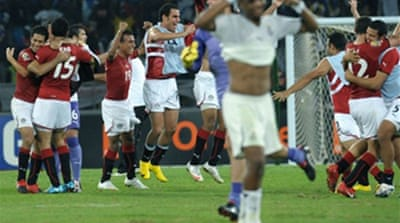 African glory for Egypt