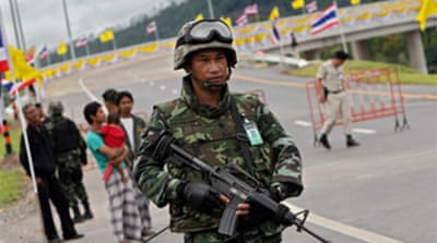 Troops killed in Thailand attacks