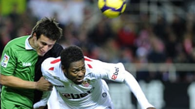 Sevilla's title hopes fade