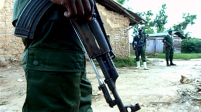 Rwandan held over DR Congo rapes