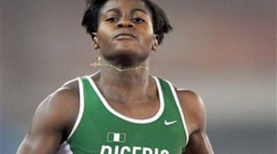 Nigerian gold winner tests positive