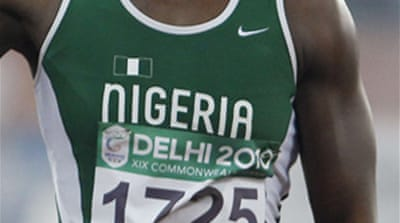 Nigerian sprinter stripped of gold