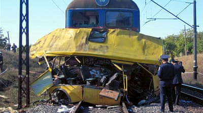 Dozens killed in Ukraine collision